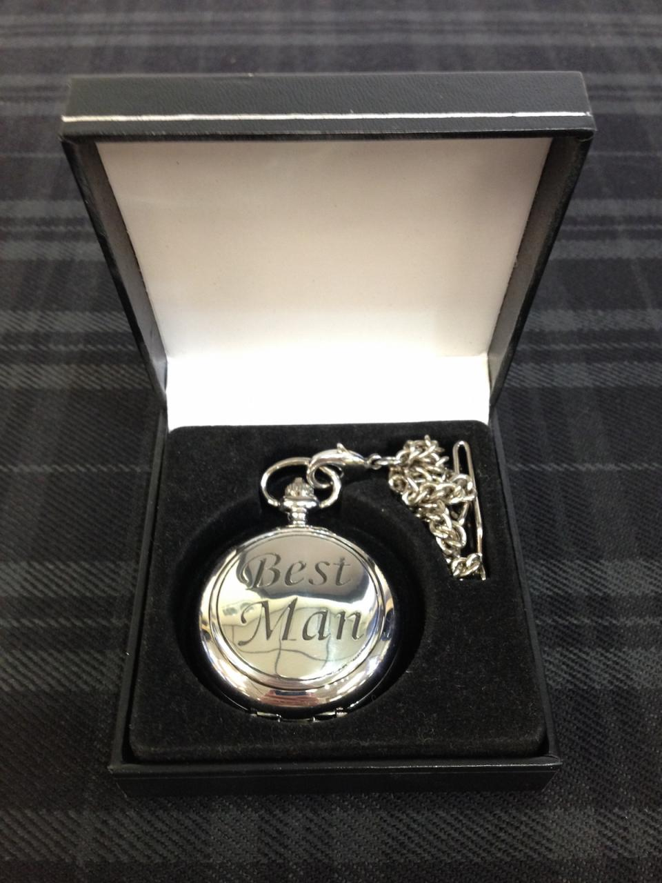 Prestige Groomsmen Pocket Watch