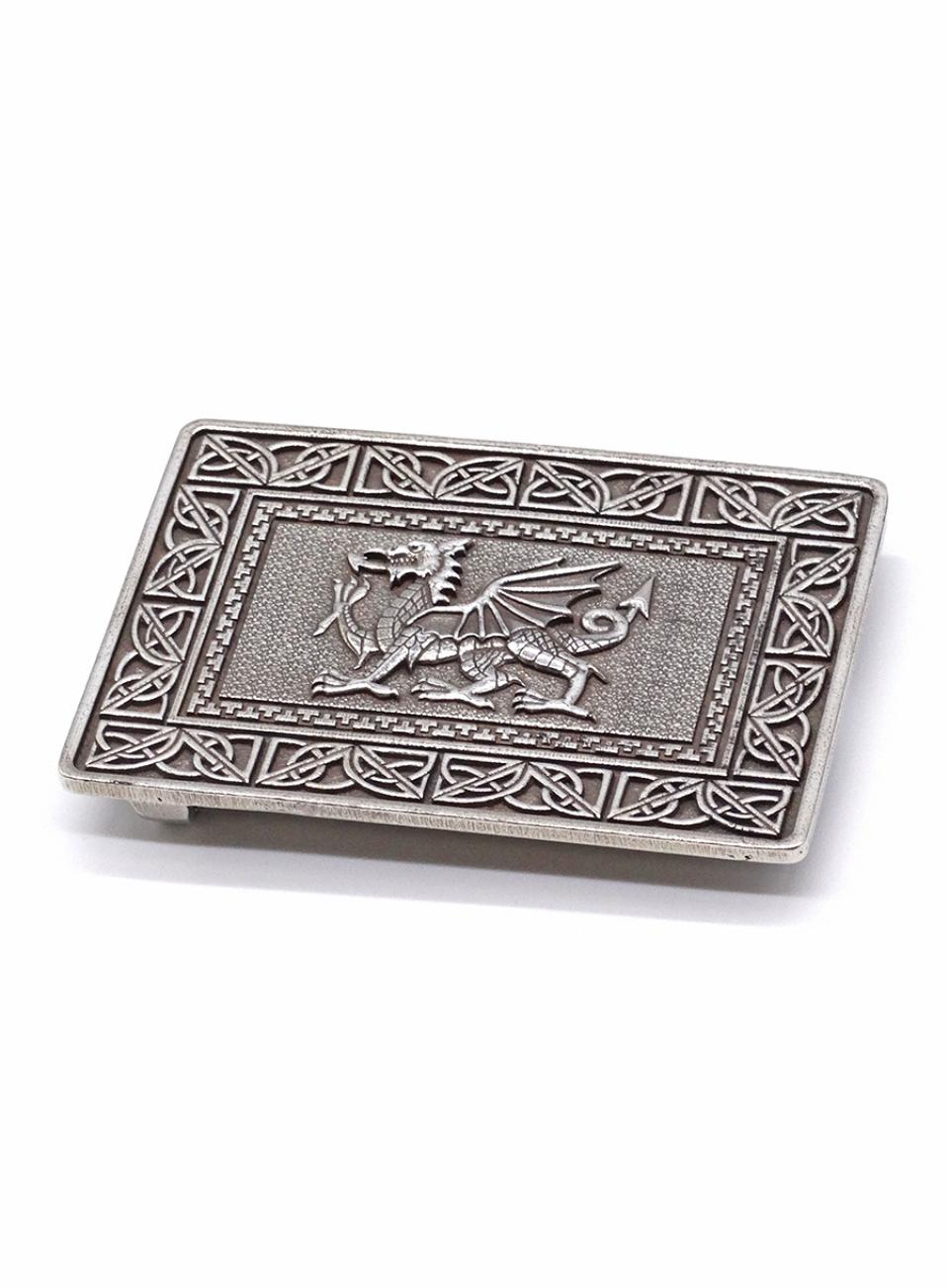 Pewter Dragon Buckle