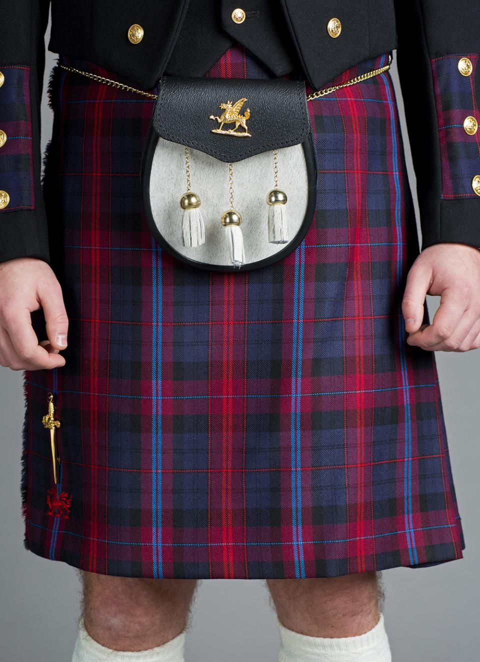 Welsh 5 Yard Casual Kilt