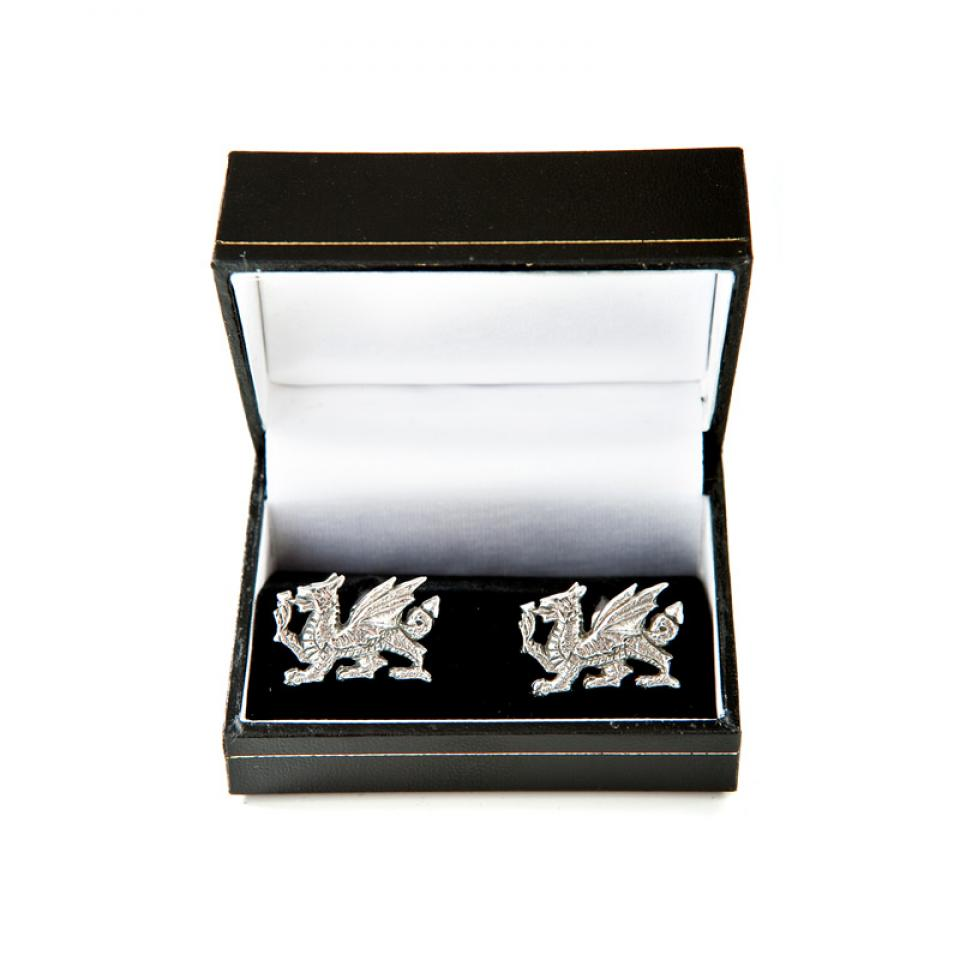 Pewter Dragon Cufflinks
