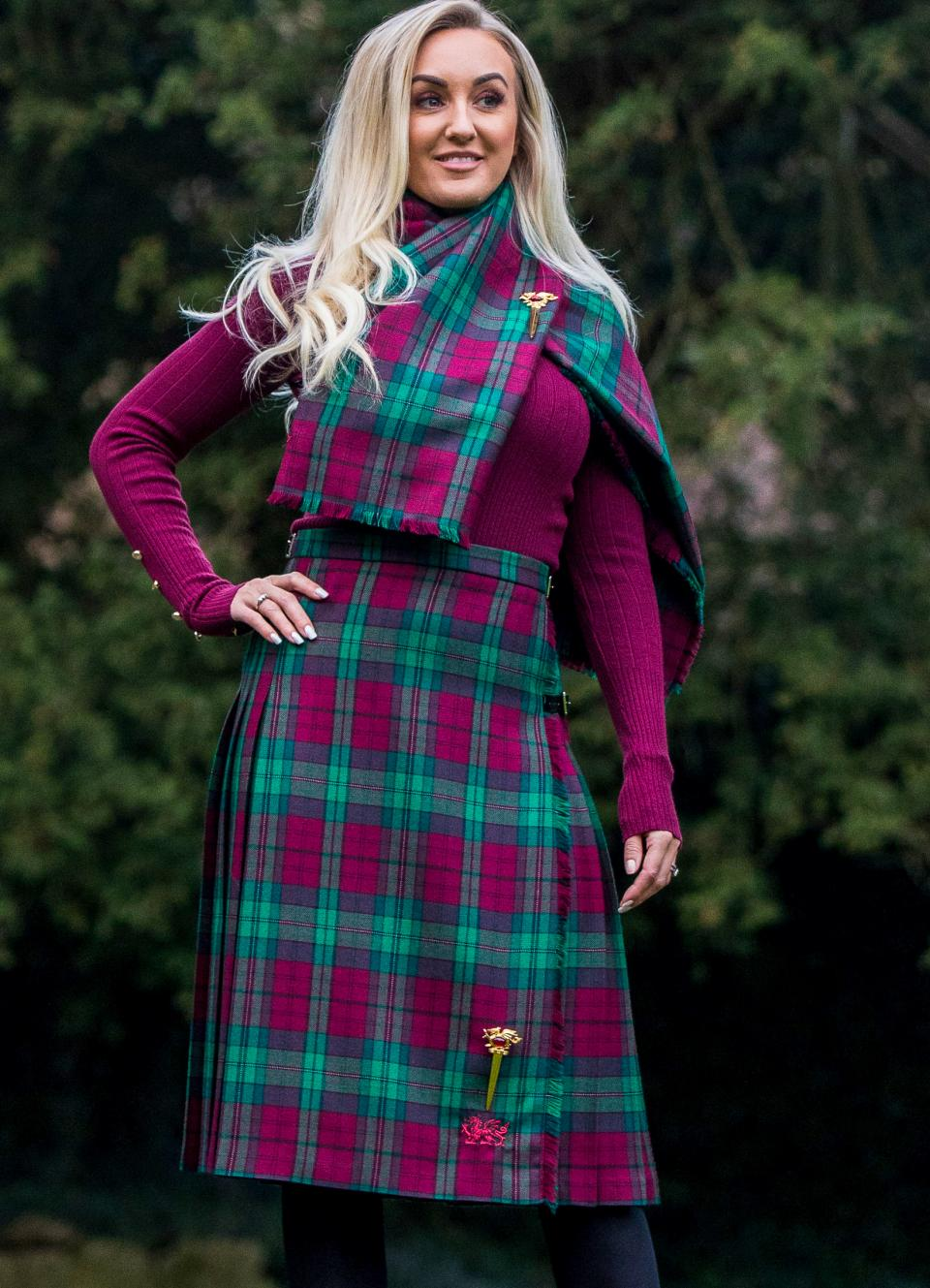 Made To Measure Ladies Kilt Skirt