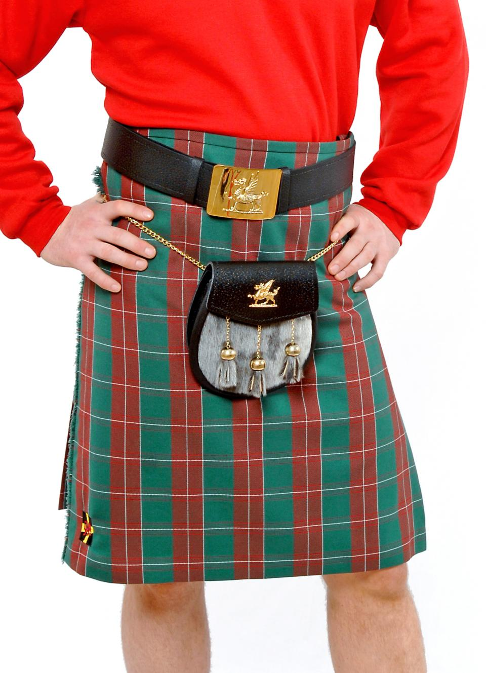 St David's Poly/Viscose Kilt