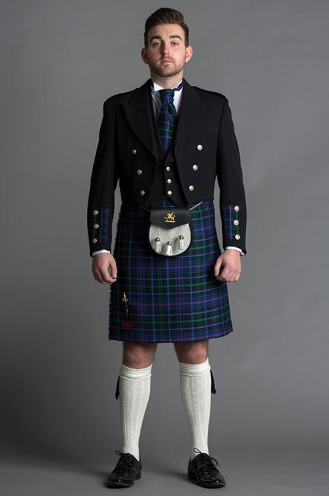 8 Yard Dress Kilt Package