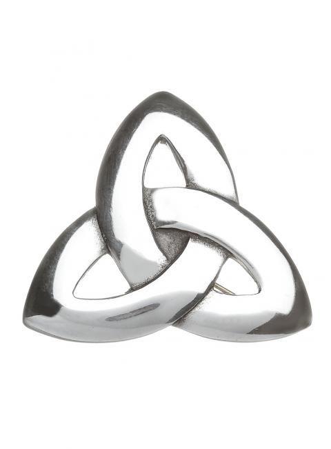 Ladies Trinity Knot Brooch