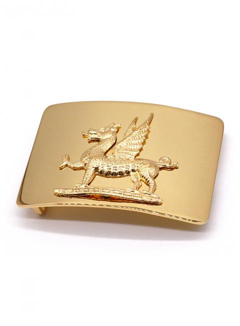 Gold Dragon Buckle