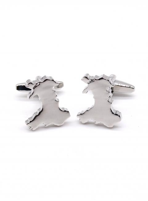 Welsh Map Cufflinks