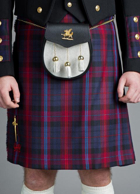 Welsh 8 Yard Dress Kilt