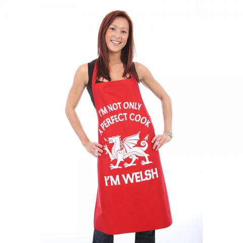 'Perfect Welsh Cook' Apron