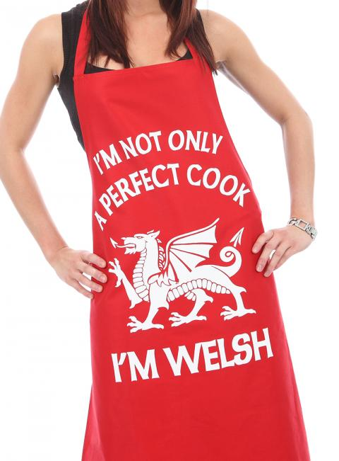 Perfect Welsh Cook Apron