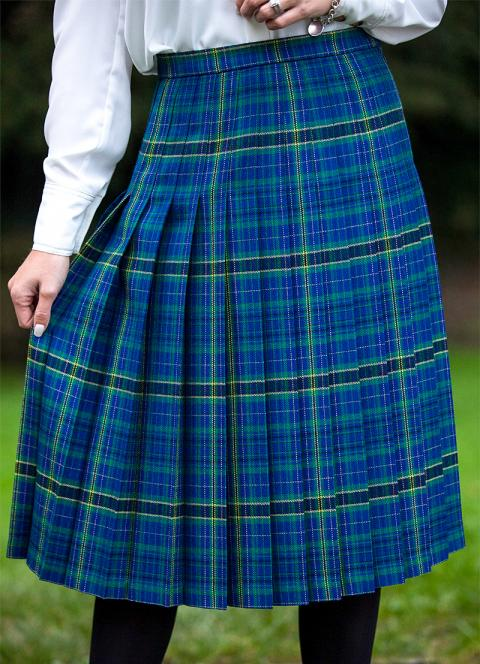 Made To Measure Pleated Skirt