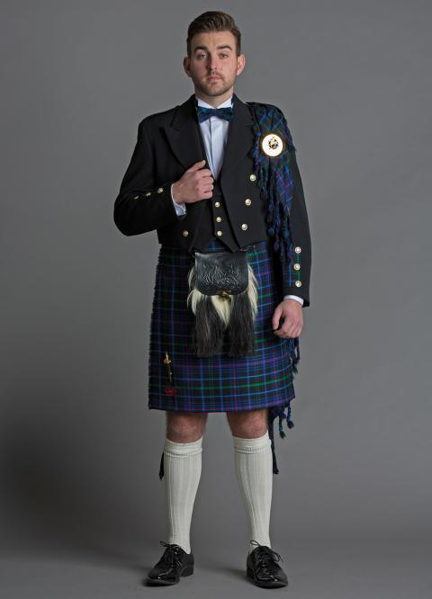 Pride of Wales Kilt Outfit Hire
