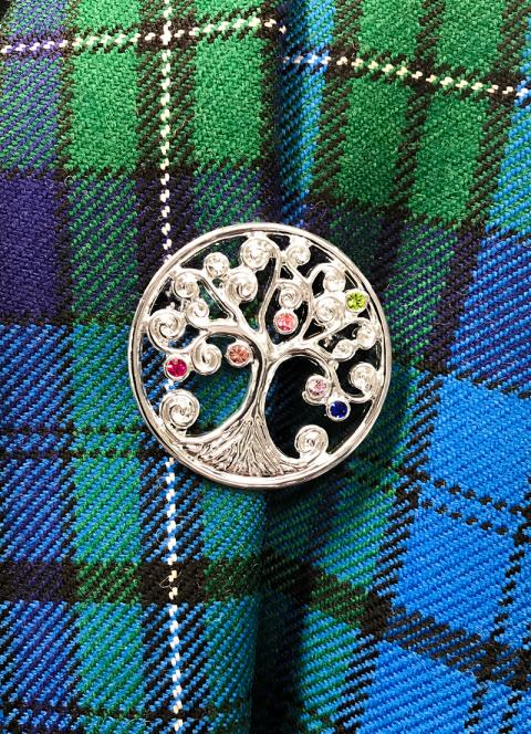 Ladies Tree of Life Brooch