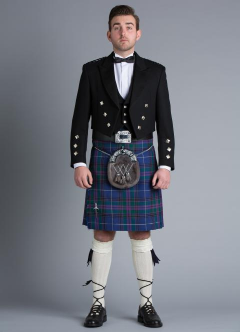Scottish/Irish Kilt Outfit Hire (UK ONLY)