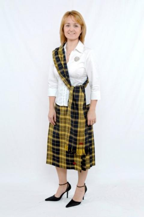 Ladies Welsh Tartan Sash