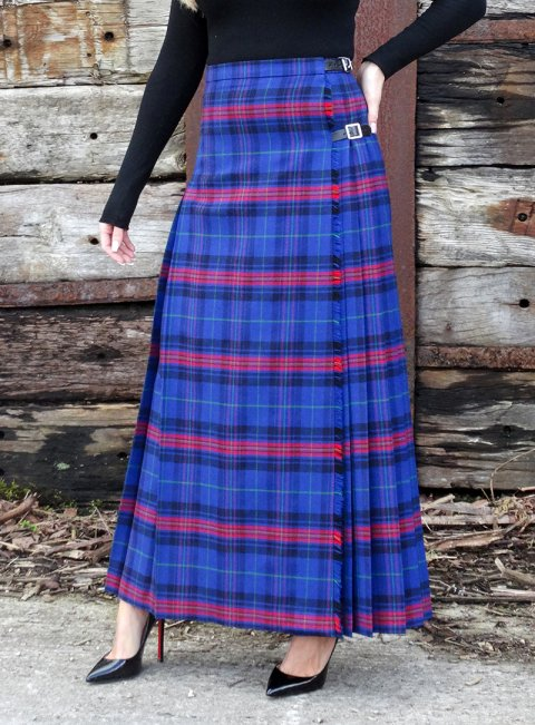 Tartan 'Hostess' Skirt