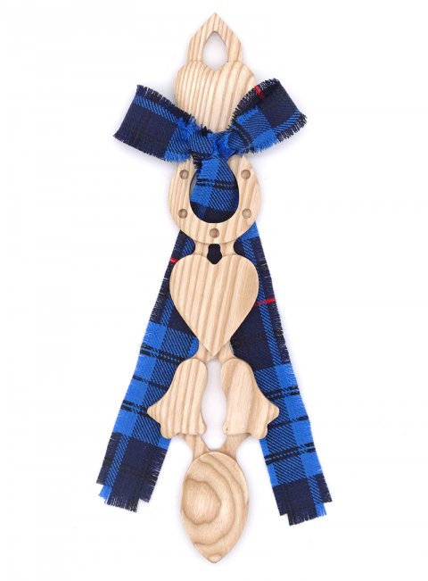 Large Tartan Lovespoon