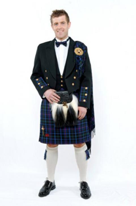 Prestige 10 Yard Kilt Package
