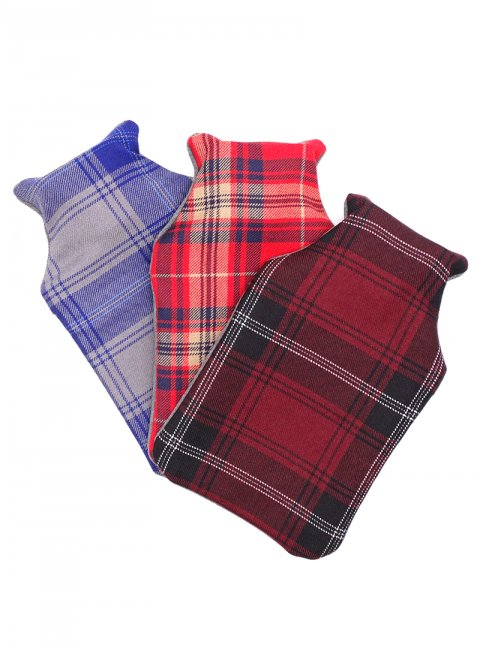 Welsh Tartan Hot Water Bottle