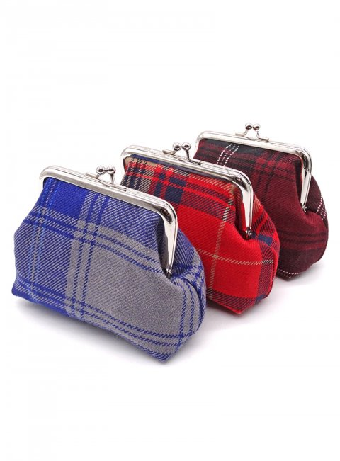 Welsh Tartan Coin Purse