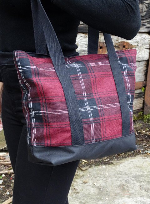 Welsh Tartan Shoulder Bag