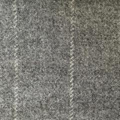 Grey Stripe Tweed