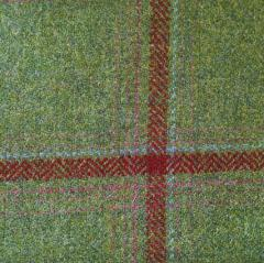 Lovat Mulberry Loganberry Tweed